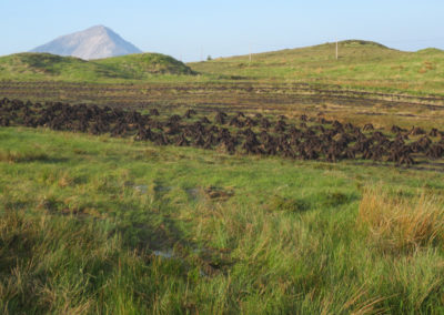 Turf stacks, Donegal