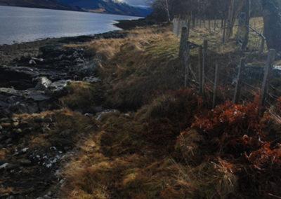 The lochside, Loch Broom, Scotland